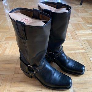 Frye 150 Anniversary Harness Moto Boot 12 R